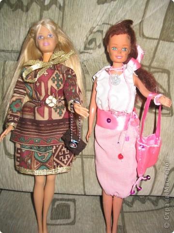 Одежда для куклы Барби своими руками. 7 класс. Девочки на уроках технологии. фото 1