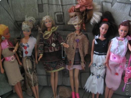 Одежда для куклы Барби своими руками. 7 класс. Девочки на уроках технологии. фото 2