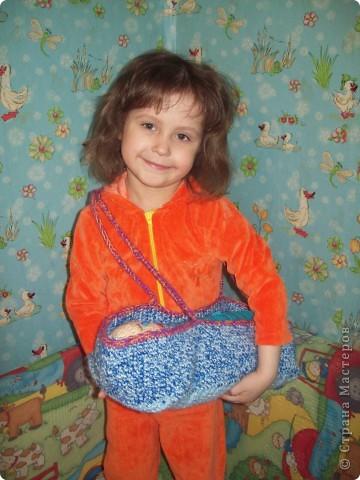Вот такой подарок я связала для младшей сестрёнки.  фото 1
