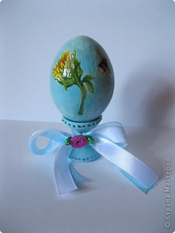 Все яйца выполнены в технике декупаж. фото 3