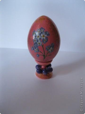 Все яйца выполнены в технике декупаж. фото 4
