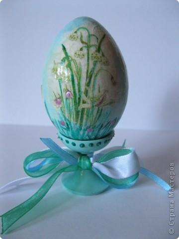 Все яйца выполнены в технике декупаж. фото 8