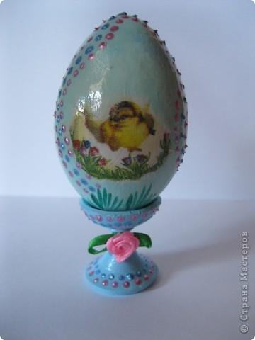 Все яйца выполнены в технике декупаж. фото 5