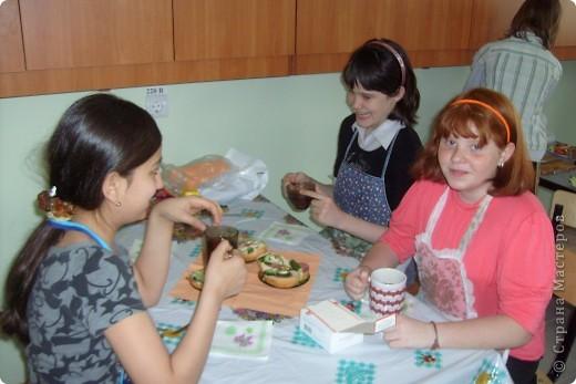 На уроках технологии с девочками. Кулинария. фото 1