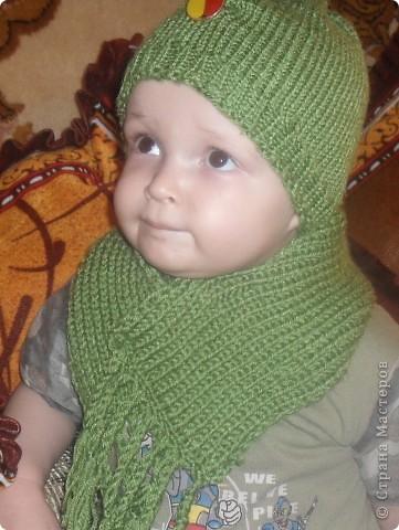 Шапка и шарфик фото 2