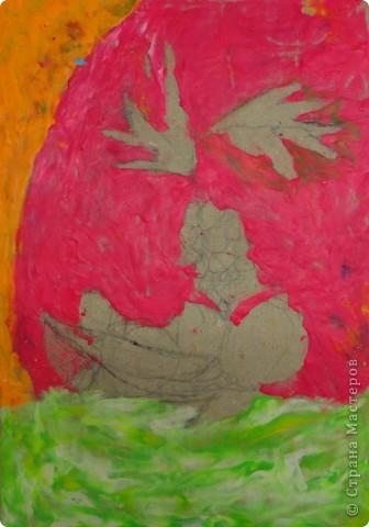 Натюрморт Макаровой Александры, 7л. Для выполнения натюрморта в  пластилиновой технике нам понадобился картон, пластилин и фантазия. фото 5