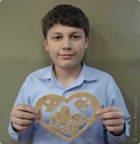 """Валентин, 6-й класс. Панно """"Голова лошади"""" фото 6"""
