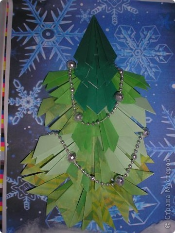 Хоть и не Новый год, а готовясь к выставке сделала такую елочку. Маме она сразу понравилась (она работает в детском саду). фото 1