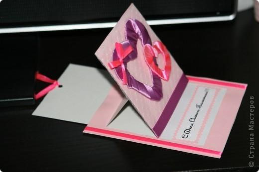 открытка-шоколадница, дополнительный подарок для сестренки мужа ;))) спасибочки огромное за идею Angel Olenka и ее МК http://stranamasterov.ru/node/178609 фото 6