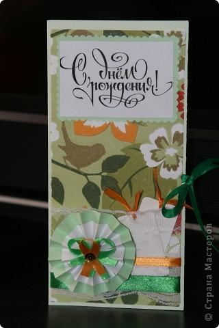 открытка-шоколадница, дополнительный подарок для сестренки мужа ;))) спасибочки огромное за идею Angel Olenka и ее МК http://stranamasterov.ru/node/178609 фото 1