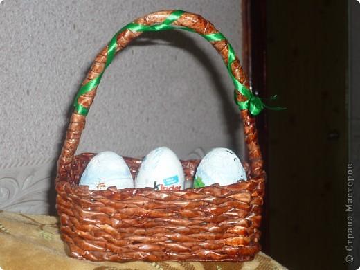 Корзинка в подарок на Пасху племянницам фото 4