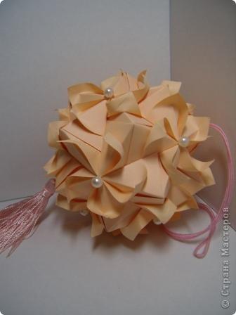 Кусудама Whipped Cream, M. Mukerji МК: http://stranamasterov.ru/node/175925?tid=451%2C850 Спасибо Pino! фото 3