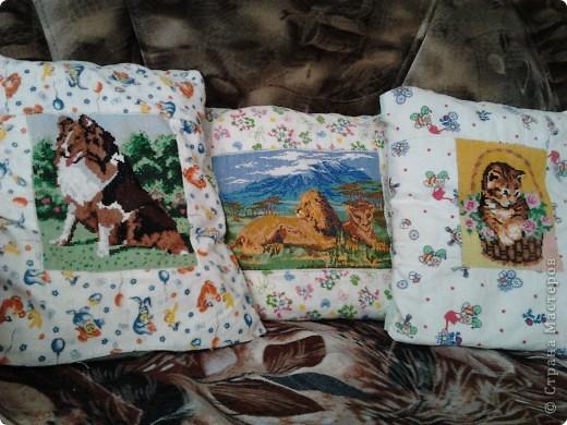 подушечки для дочки