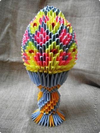 Цветочное яйцо по МК