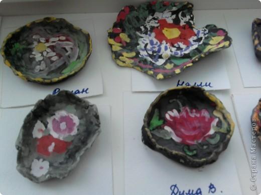 глиняные жостовские подносы