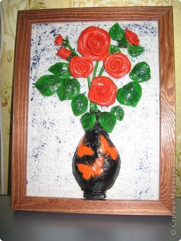 Мои первые цветы Спасибо всем,кто работает в данной технике.Низкий поклон за то,что разбудили...Всем творческих успехов фото 2