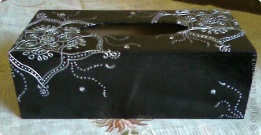 Салфетница в восточном стиле (МК) фото 8