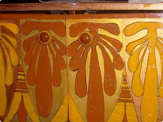 Роспись старой мебели