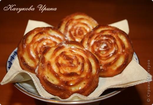 Вчера испекла апельсиновые кексы (маффины). Они всем очень понравились! фото 1