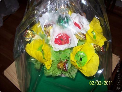 Букет конфетный фото 2