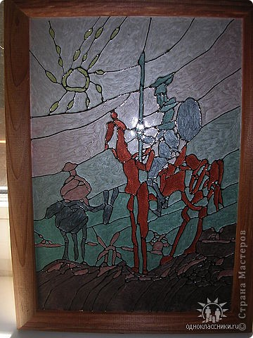 """Копия картины Густава Климта """"Поцелуй"""". Размер стекла 42*47 см.  фото 12"""