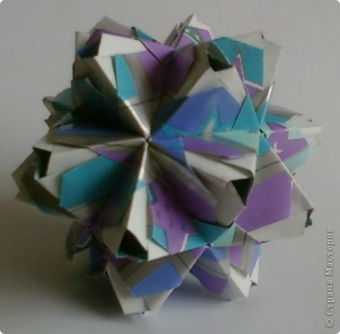 Name: Little Unit Designer: Maria Sinayskaya Parts: 30 Paper:3.5*7cm Joint: glue фото 1