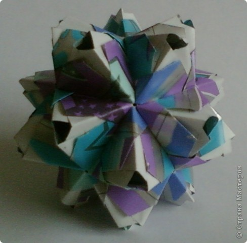Name: Little Unit Designer: Maria Sinayskaya Parts: 30 Paper:3.5*7cm Joint: glue фото 3