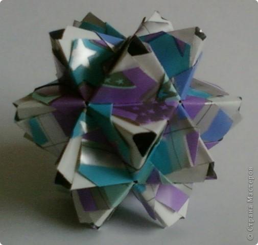 Name: Little Unit Designer: Maria Sinayskaya Parts: 30 Paper:3.5*7cm Joint: glue фото 2