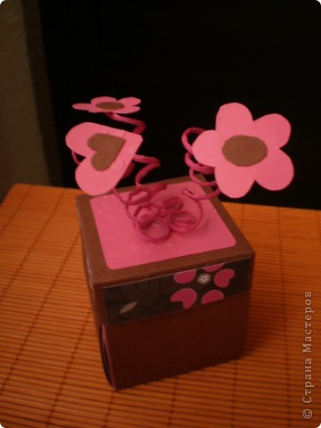 Открытка-коробка фото 1