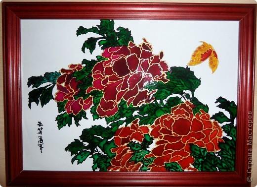 """Копия картины Густава Климта """"Поцелуй"""". Размер стекла 42*47 см.  фото 8"""