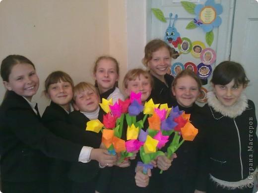 Наши тюльпаны фото 2