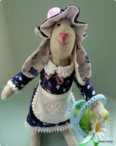 Зайка пасхальный в подарок фото 4