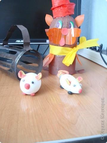 Кот и мышки фото 3