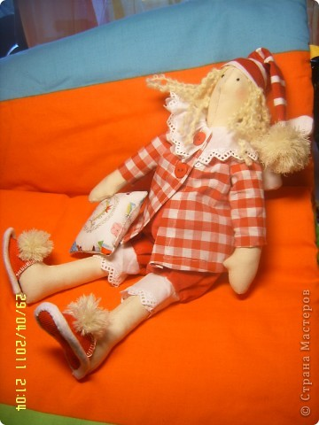 Вот и сшились мои сплюши, влюблена вних безмерно. Вот даже думаю-стоит ли руку к носикам пришивать? как думаете? фото 6