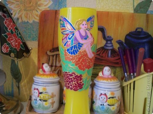 Бутылка-ваза фото 4