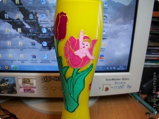 Бутылка-ваза фото 5