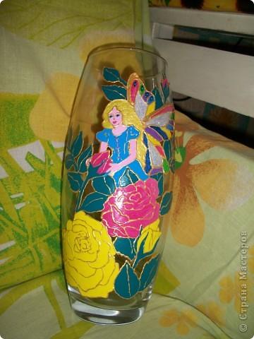 Бутылка-ваза фото 9