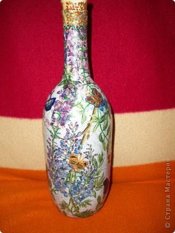 Бутылка-ваза фото 1