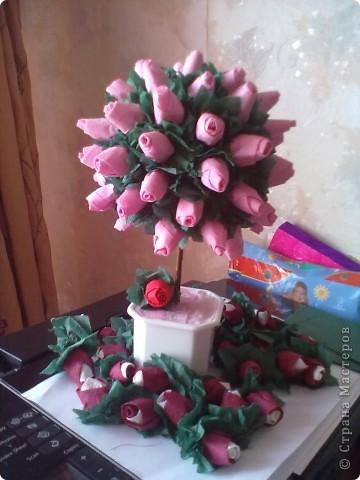 Вот такое дерево у меня получилось ко дню моего рождения! фото 1