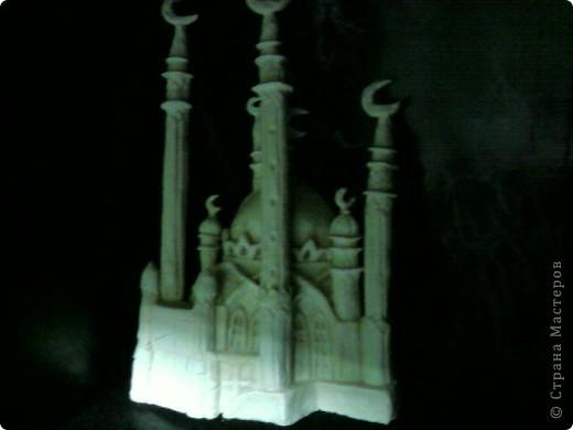 мечеть г.Казани из соленого теста