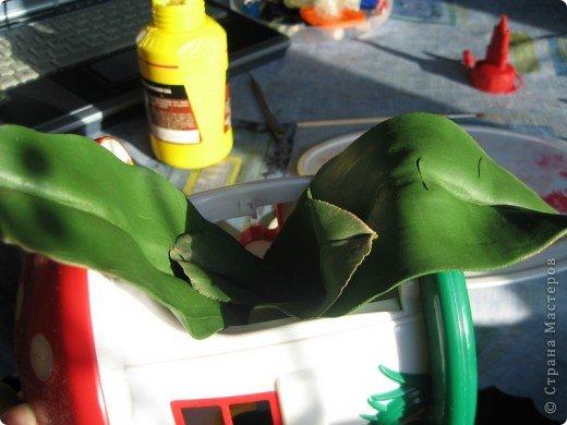 Мастер-класс Лепка МК орхидея Фаленопсис Фарфор холодный фото 50