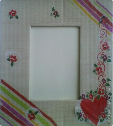 """Рамка для фото """"Ирисы"""" фото 3"""