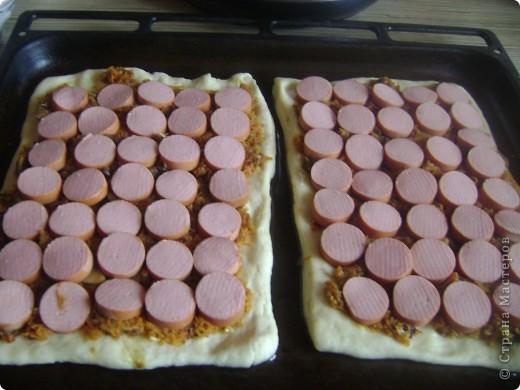 Вчера ходила на кружок к ветеранам.Вот сделала пиццу на угощение.И решила сделать МК))) фото 3