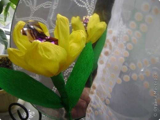 Как я давно это хотела сделать!Вы не представляите!Хочу научится делать корзины и дарить своим знакомым!Ура это первый цветочек!!! фото 1