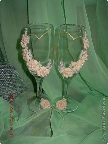 Свадебные бокалы... фото 4