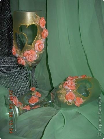 Свадебные бокалы... фото 2