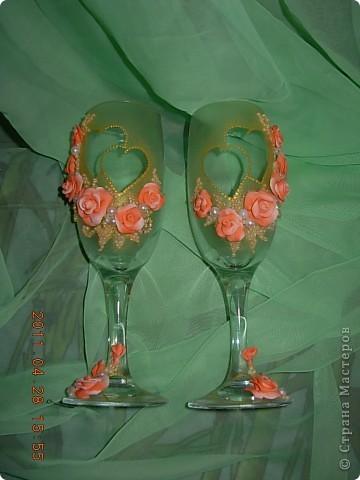 Свадебные бокалы... фото 5