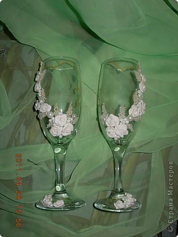 Свадебные бокалы... фото 3