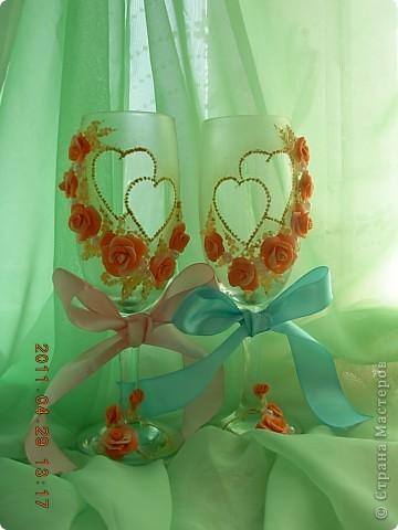 Свадебные бокалы... фото 1