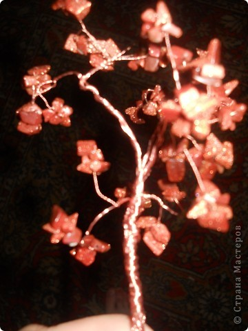 деревья из бисера. Проба пера фото 2